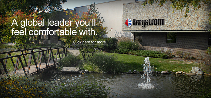 Bergstrom's world headquarters is located in Rockford, Illinois.