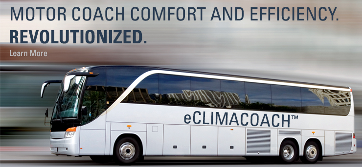 Motor coach comfort and efficiency. Revolutionized.